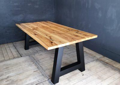 Essen houten tafel