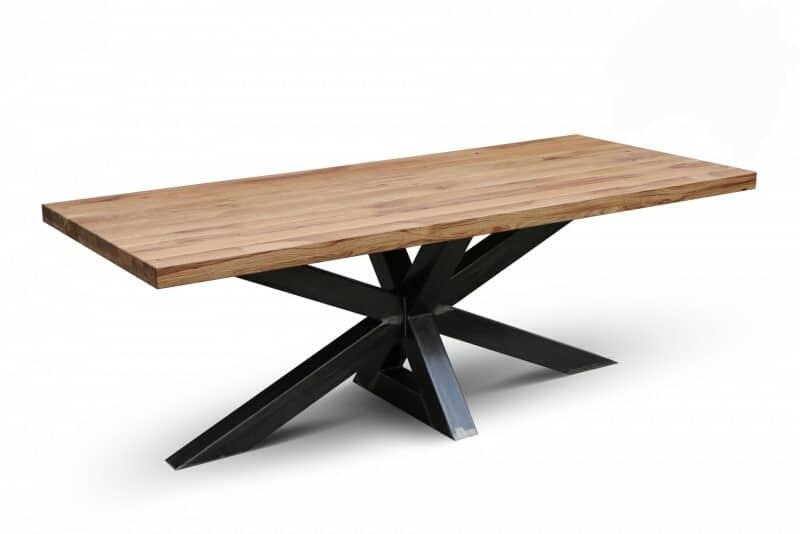 Beroemd Industriële eiken tafels - Markante Tafels FN99