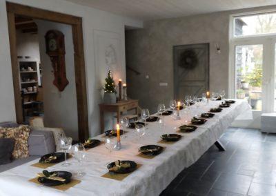 Gedekte tafel 480x100 cm