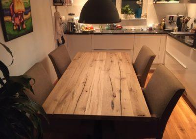 oud eiken tafel 160x90 cm