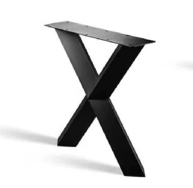 Nr 19. X-poot prisma (koker 8 of 10cm)