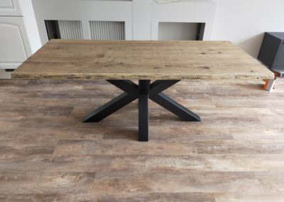 Boomstamtafel blackwash met Matrix-poot