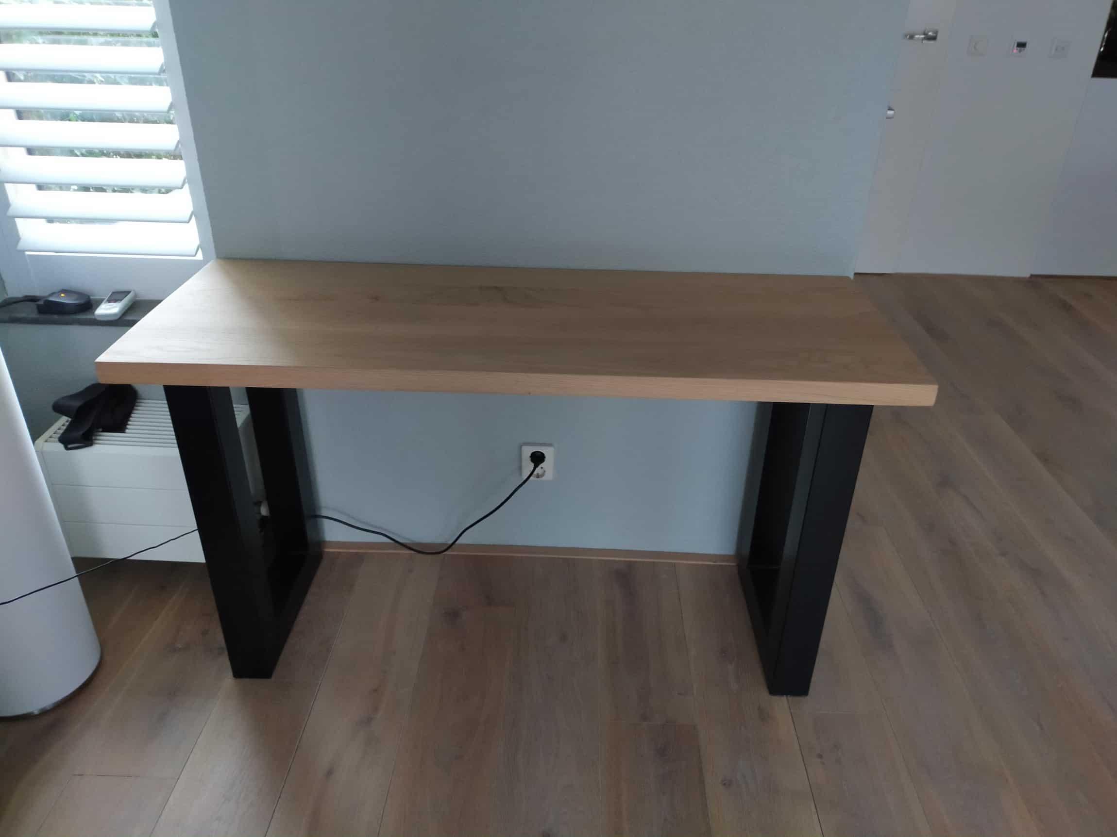 Eiken bureau tafel